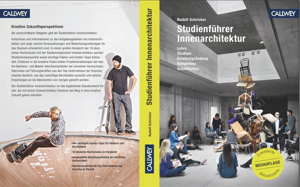Innenarchitektur studium voraussetzungen  Studienführer Innenarchitektur 2017 – DID | Deutsches Institut für ...